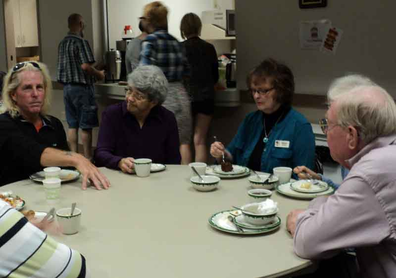 Christ Episcopal Church Fellowship Potluck on Ministry Sunday