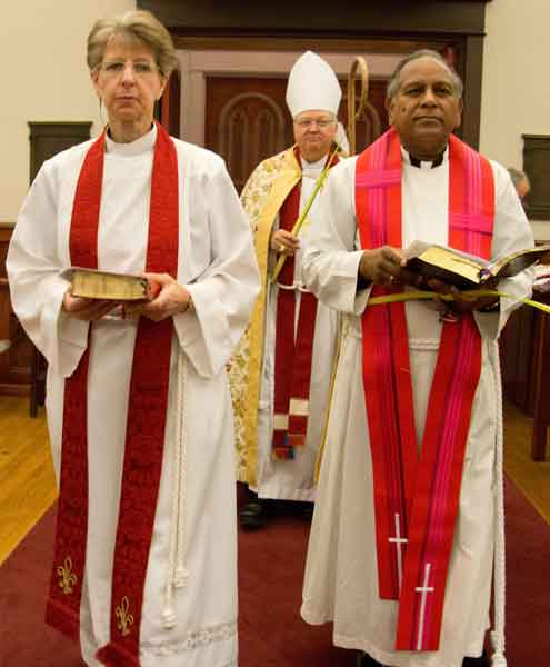 Bishop W. Jay Lambert installation