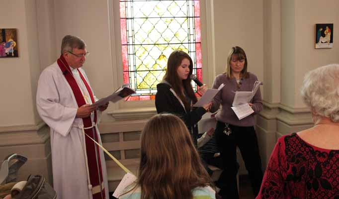 Stations of the Cross Worship at Christ Episcopal Church in La Crosse, WI